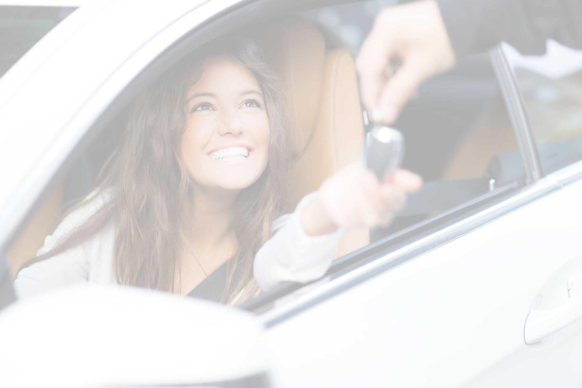 Auto Locksmiths Essex UK Customer In Car